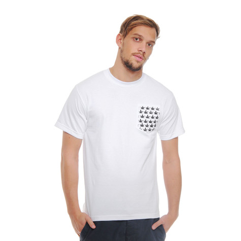 aNYthing - Baggy Leaf Pocket T-Shirt