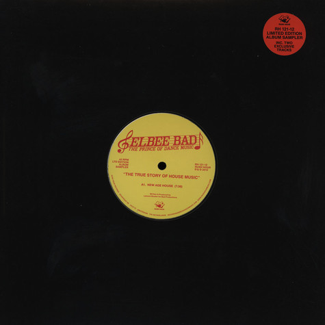 Elbee Bad - The True Story Of House Music EP