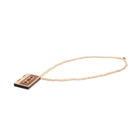 Good Wood NYC - Cassette Tape Pendant