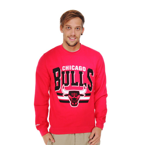 Mitchell & Ness - Chicago Bulls Stadium Crew Sweater