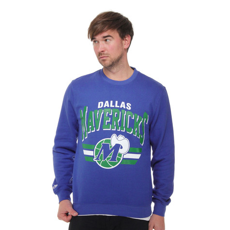 Mitchell & Ness - Dallas Mavericks Stadium Crew Sweater