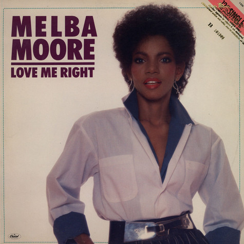 Melba Moore - Love Me Right