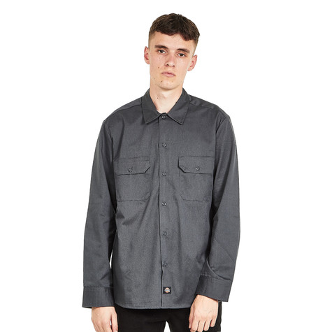 Dickies - Long Sleeve Slim Work Shirt