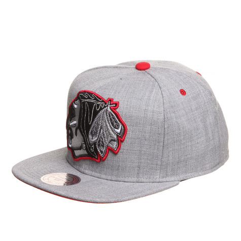 Mitchell & Ness - Chicago Blackhawks NHL Dark Grey Road XL Snapback Cap