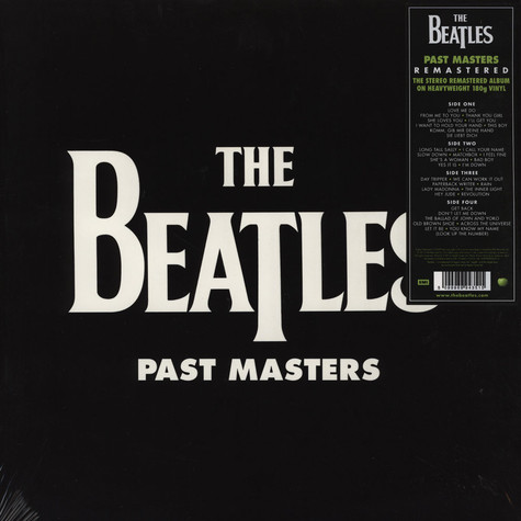 Beatles, The - Past Masters Volume 1 & 2