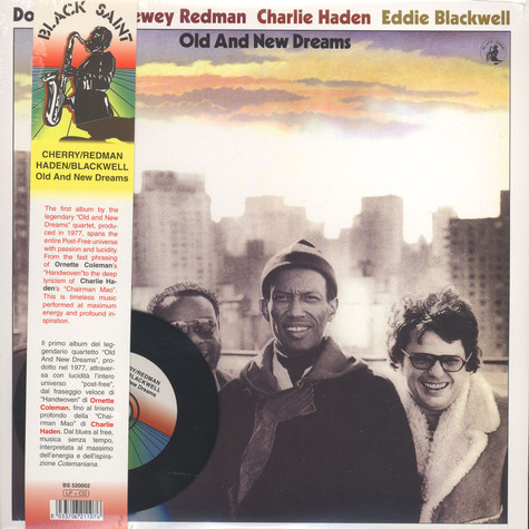 Don Cherry, Dewey Redman, Charlie Haden & Ed Blackwell - Old And New Dreams