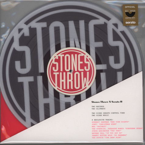 Stones Throw x Rane Serato - Stones Throw x Serato Pack Volume 2