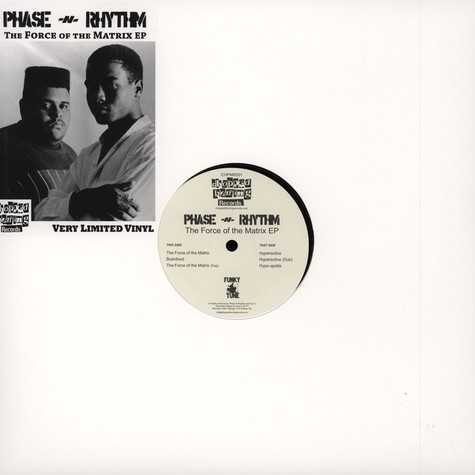 Phase N Rhythm - The Force Of The Matrix EP