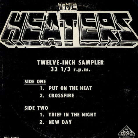Heaters, The - Promo Sampler