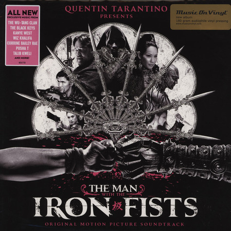 V.A. - OST The Man With The Iron Fists Pink Vinyl Edition