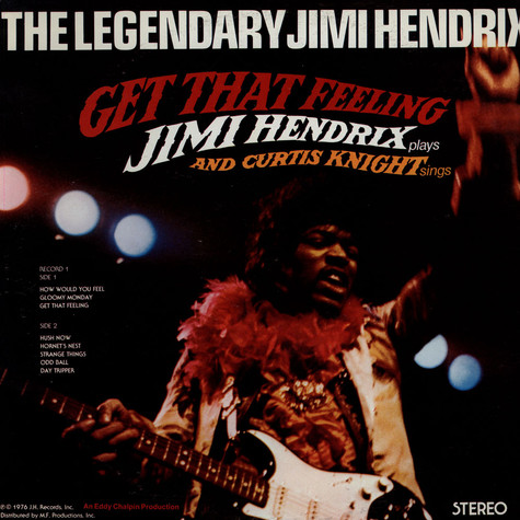 Jimi Hendrix & Curtis Knight - Get That Feeling / Flashing