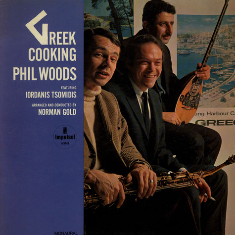 Phil Woods - Greek Cooking