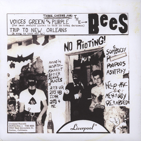 Bees, The - Voices Green & Purple