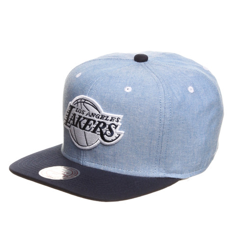 Mitchell & Ness - LA Lakers NBA Chambray 2 Snapback Cap