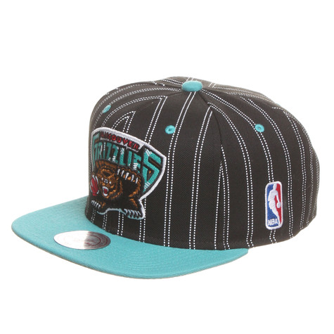 Mitchell & Ness - Vancouver Grizzlies NBA Double Pinstripe Snapback Cap