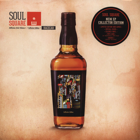 Soul Square - Millesime Serie Volume 1: Racecar Red Vinyl Edition