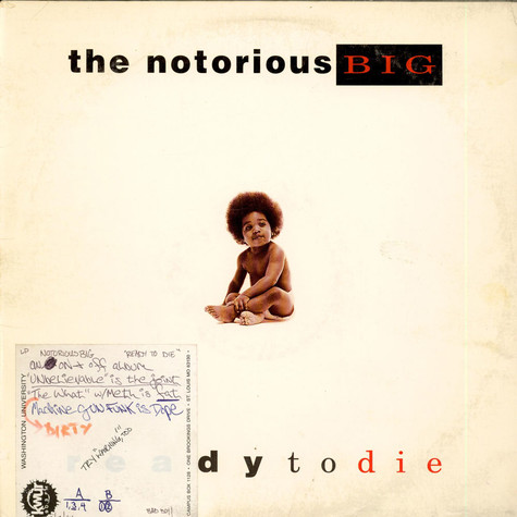 Notorious B.I.G., The - Ready To Die