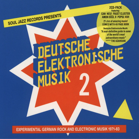 Soul Jazz Records presents - Deutsche Elektronische Musik Volume 2 - Experimental German Rock and Electronic Music 1972-83