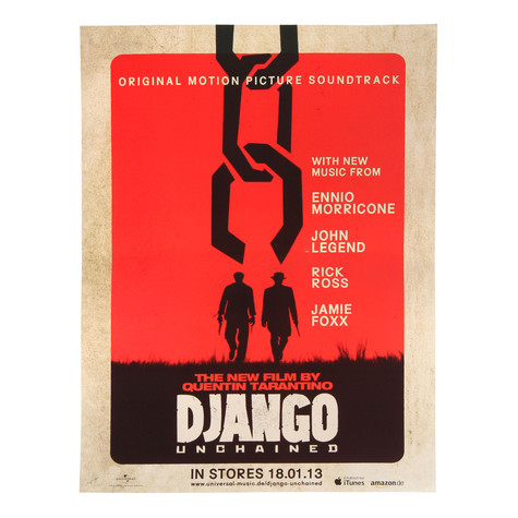 V.A. - OST Quentin Tarantino's Django Unchained Poster