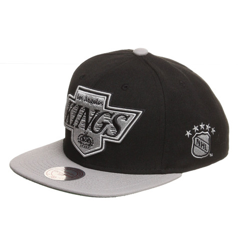 Mitchell & Ness - Los Angeles Kings NHL XL Logo 2 Tone Snapback Cap