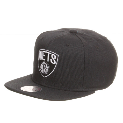 Mitchell & Ness - Brooklyn Nets NBA Wool Solid 2 Snapback Cap