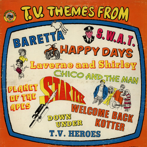 Wonderland Singers And Orchestra - TV Themes From
