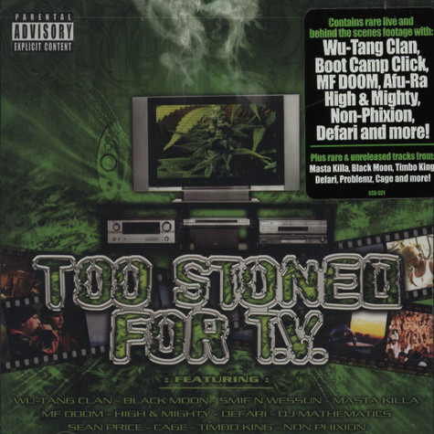 V.A. - Too stoned for TV