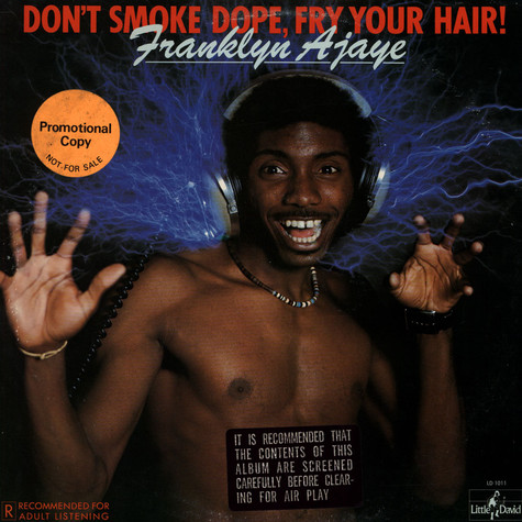 Franklyn Ajaye - Don't Smoke Dope, Fry Your Hair!