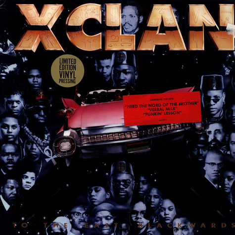 X Clan - To The East, Blackwards