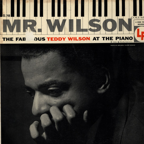 Teddy Wilson - The Fabulous Teddy Wilson At The Piano