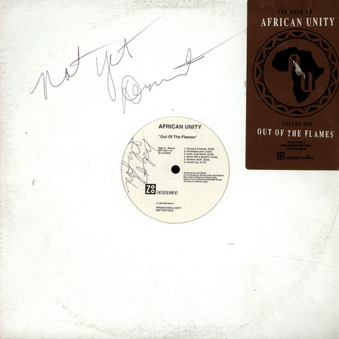 African Unity - Out Of The Flames