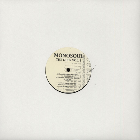 Monosoul - The Dubs Volume I