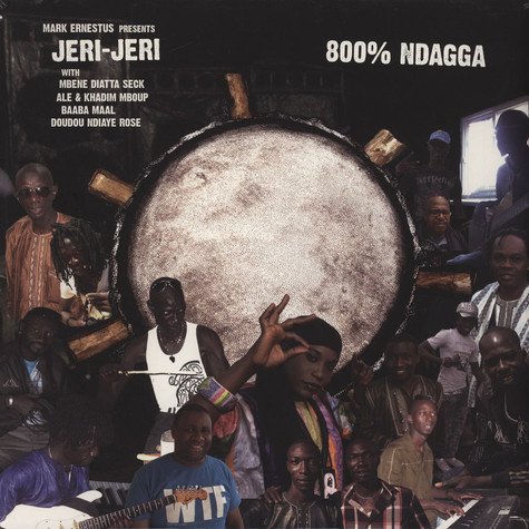 Mark Ernestus presents Jeri-Jeri - 800% Ndagga
