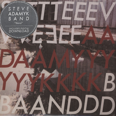 Steve Adamyk Band - Third