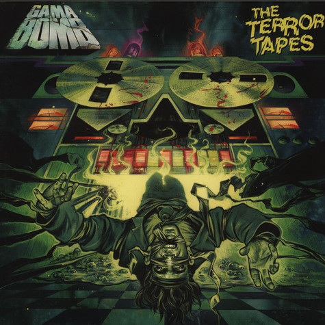 Gama Bomb - The Terror Tapes Green Vinyl Edition