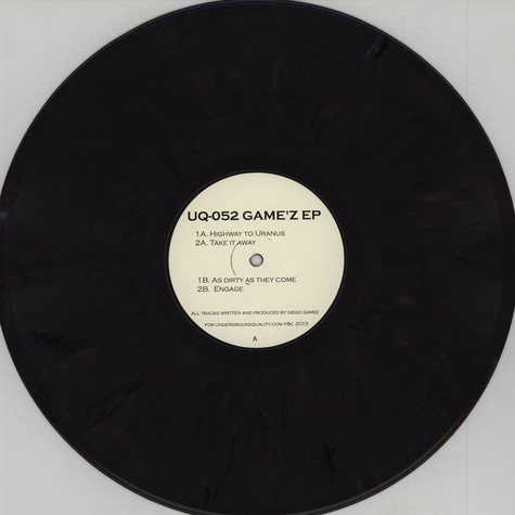 Diego Gamez - Game'z EP