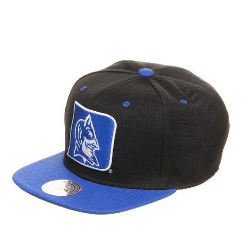 Mitchell & Ness - Duke Blue Devils NCAA Black 2 Tone Snapback Cap