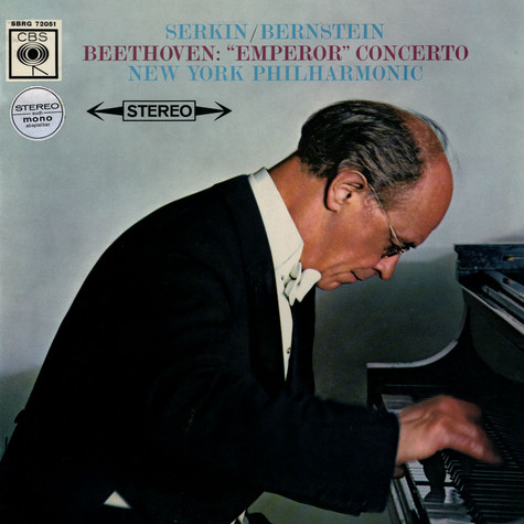Ludwig van Beethoven / Rudolf Serkin / Leonard Bernstein / New York Philharmonic Orchestra, The - Concerto No. 5 In E-Flat Major For Piano And Orchestra, Op. 73 (Emperor)