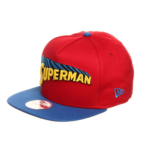 New Era x DC Comics - Superman Reverse Classic 9fifty Snapback Cap