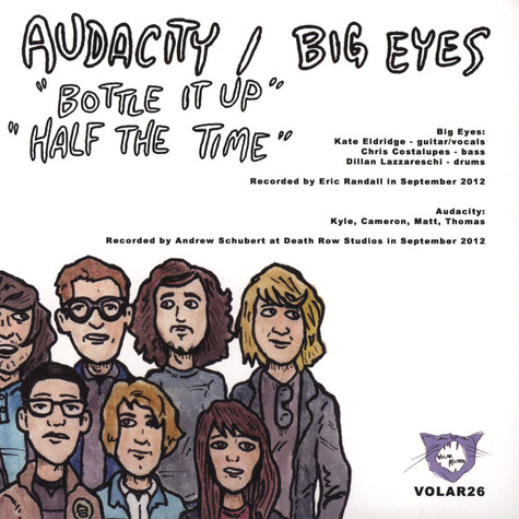Audacity / Big Eyes - Split