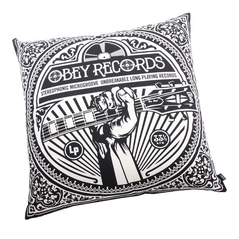 Obey - Unbreakable Records Pillow
