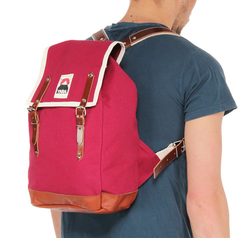 YKRA - Matra Mini Leather Strap & Bottom Backpack