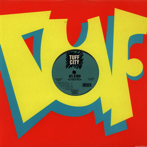 45 King - Lost Breakbeats - The Yellow Album