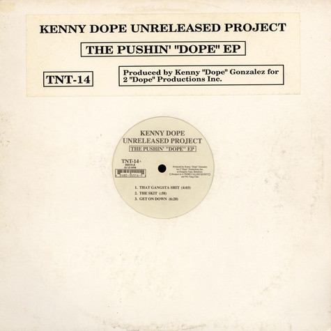 Kenny Dope - The Pushin' Dope EP