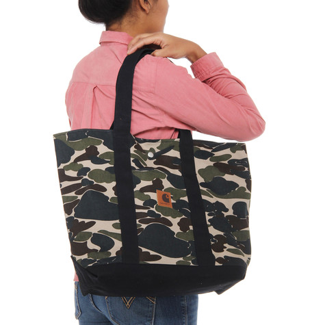 aebbfc9dfdcd Carhartt WIP - Simple Tote Bag (Camo Isle   Black)