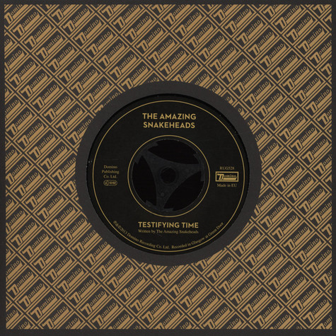 Amazing Snakeheads, The - Testifying Time / The Truth Serum
