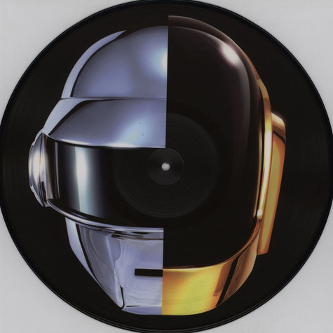 Daft Punk - Get Lucky Remixes Part 2 Feat. Pharrell Williams & Nile Rogers Picture Disc Edition