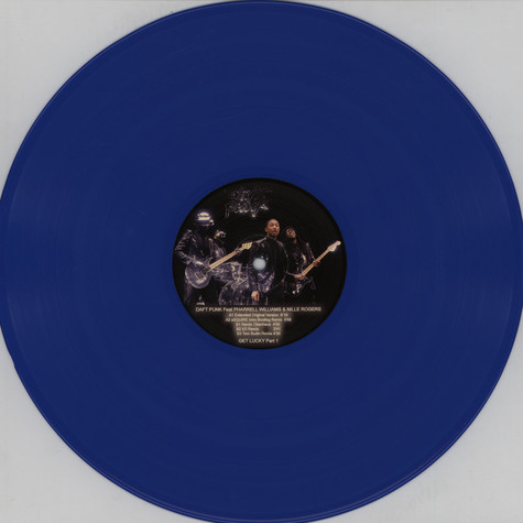 Daft Punk - Get Lucky Remixes Part 1 Feat. Pharrell Williams & Nile Rogers Colored Vinyl Edition