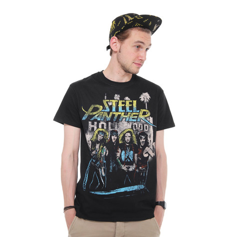 Steel Panther - Hollywood T-Shirt