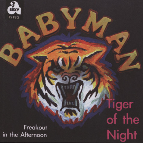 Babyman - Tiger Of The Night